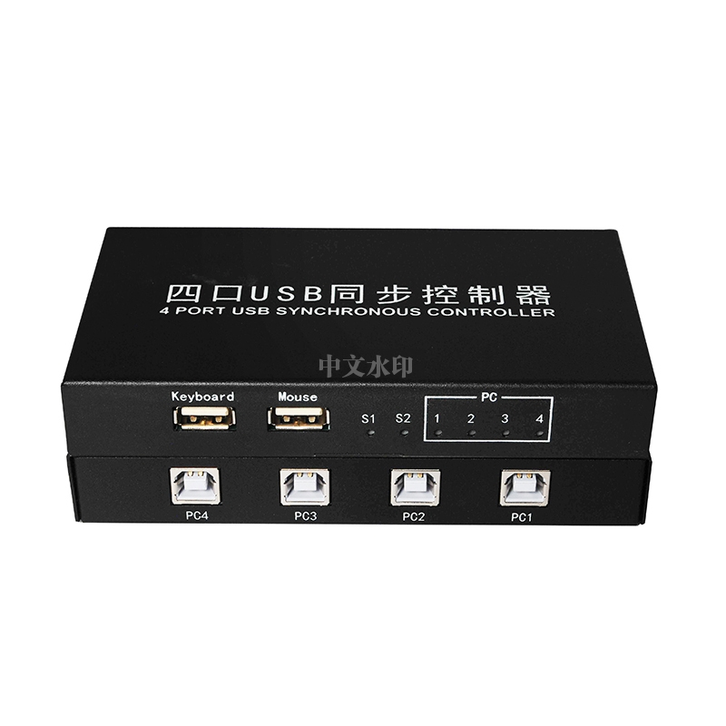 Four-port USB Synchronization Controller