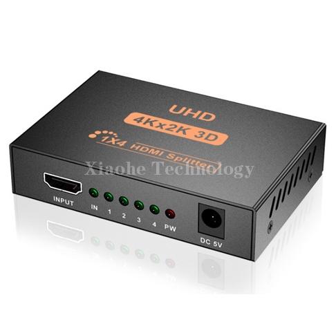 1x4 HDMI 4K splitter